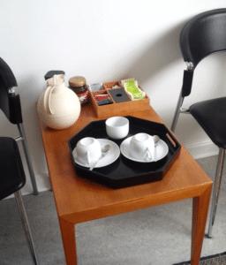 Venteværelse, tandlæge ved Trørød