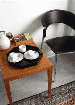 Venteværelse hos Tandlæge Hørsholm, Rungstedtand Tandlægeklinik, Vedbæk tandlæge